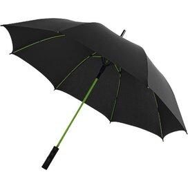 Spark 23'' automatische storm paraplu Zwart,Lime