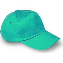 Baseball cap met sluiting Glop Cap Turquoise