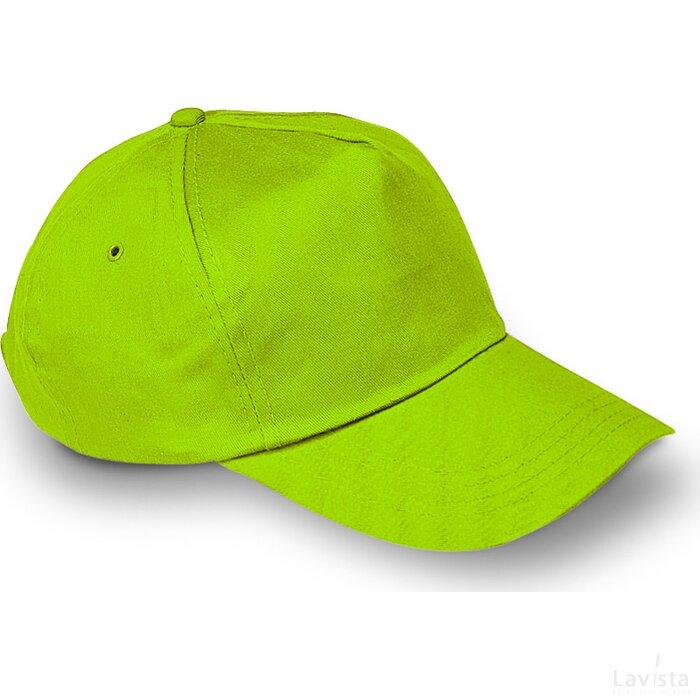 Baseball cap met sluiting Glop Cap Lime groen