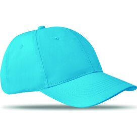 Katoenen baseball cap Basie Turquoise