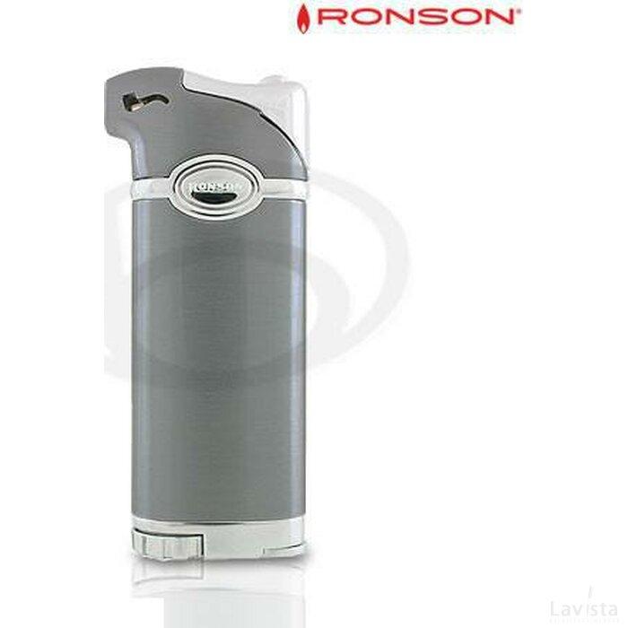 Ronson Norton Piezo Pijpaansteker Antraciet