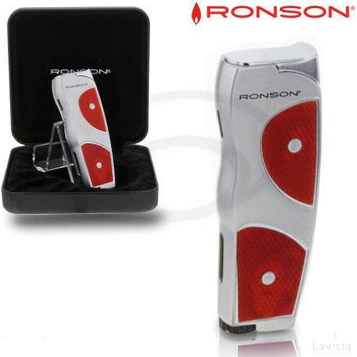 Ronson Grip Jetflame Aansteker Red
