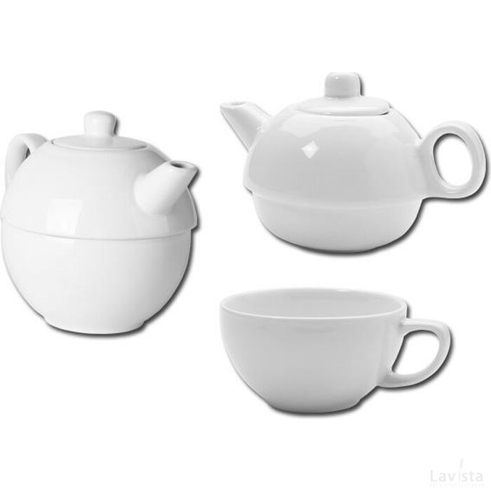 Teaset 2 In 1 Wit