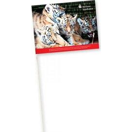 Vlaggetjes van papier 150 g/m2 21 x 31 cm.
