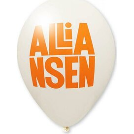Ballon 85/95 cm wit