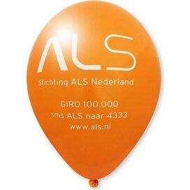 Ballon 90/100 cm oranje