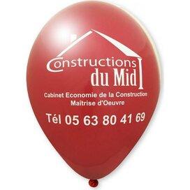 Ballon 90/100 cm bordeaux