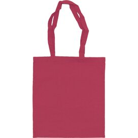 Katoenen draagtas gekleurd 140 gr/m2 roze
