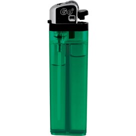 GO wegwerp transparant groen