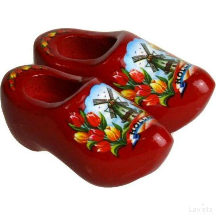 Magneetklompjes Tulp rood