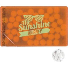 Creditcard minthouder Oranje