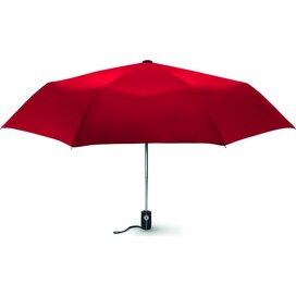 """Windbestendige paraplu, 21"""" Gentlemen Rood"""