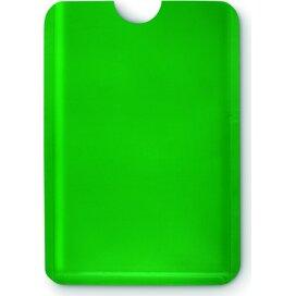 Anti skimming kaarthouder Guardian Groen