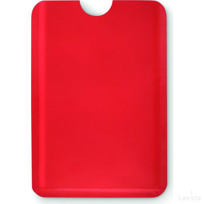 Anti skimming kaarthouder Guardian Rood