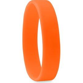 Siliconen armband Event Oranje