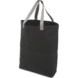 Washed Kraft Paperbag Black (100% EU Recycled)