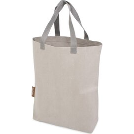 Washed Kraft Paperbag Grey (100% EU Recycled)