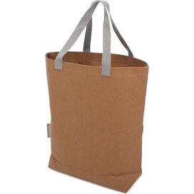Washed Kraft Paperbag Brown (100% EU Recycled)
