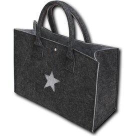 Felt Shopper With Star