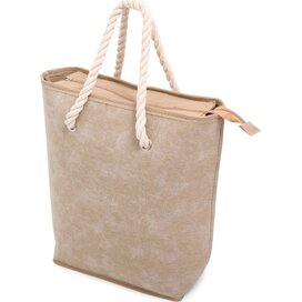 Canvas Shopper Beige