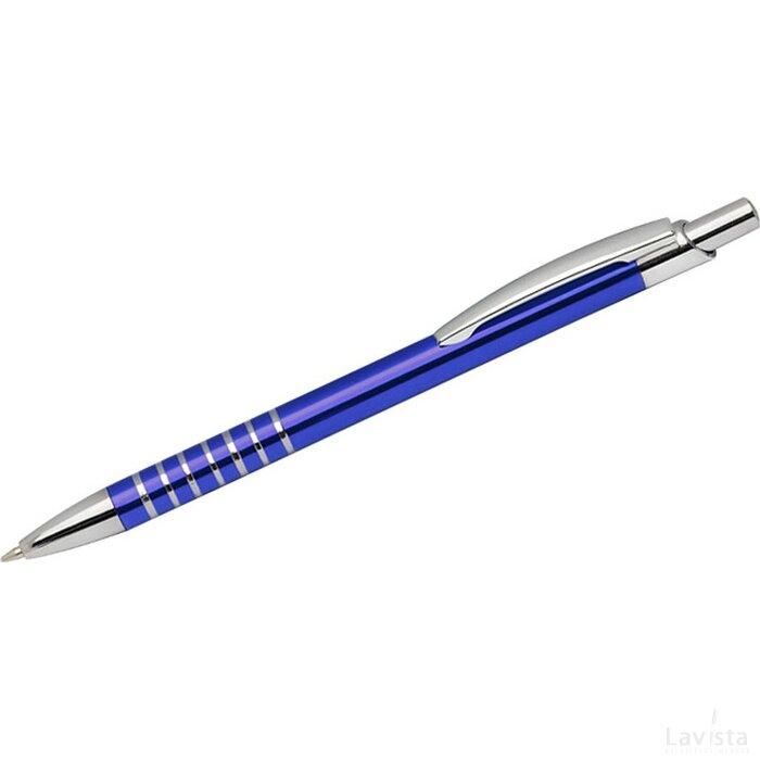 Metalen balpen Lillesand blauw