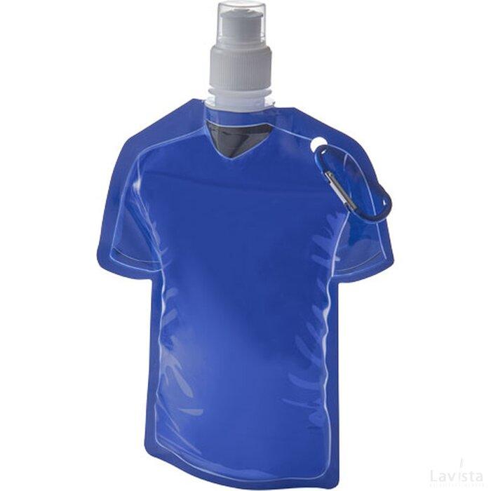 Goal voetbal jersey waterzak blauw