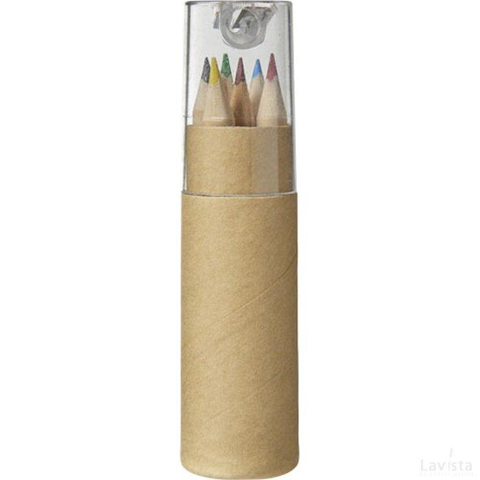 8 Delig potlodenset