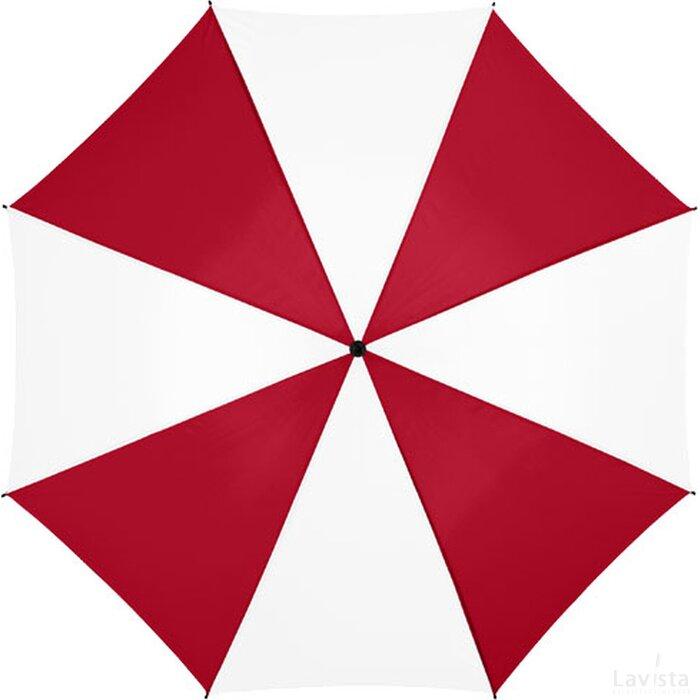 """Barry 23"""" automatische paraplu Rood,Wit"""