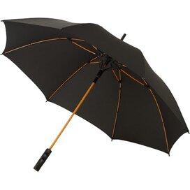 Spark 23'' automatische storm paraplu Zwart,Oranje