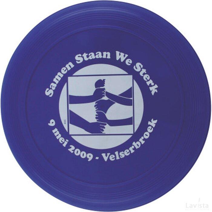Frisbee 21 cm. met ringen Blauw