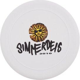 Frisbee 21 cm. met ringen Wit