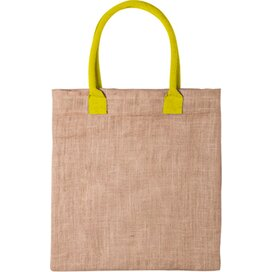 Kalkut Shopper  Geel