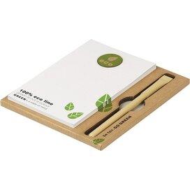 Eco notitieblokje met pen
