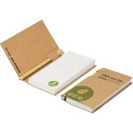 Eco notitieboekje met pen