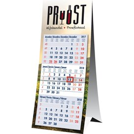 3 maands bureaukalender