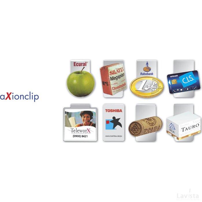 aXionclip bedrukt