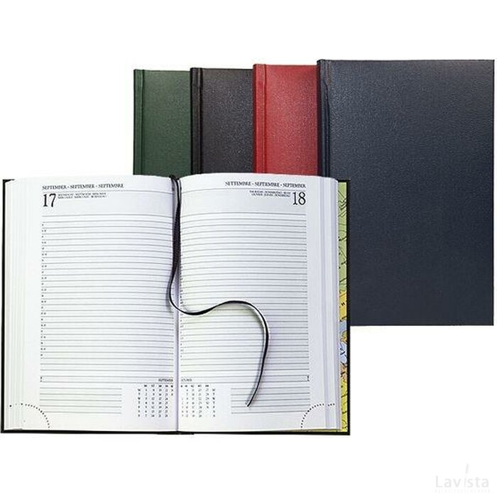 Bureau-agenda, 352 pagina Zwart