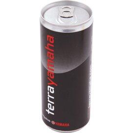 Blikje energy drink 250 ml zilver