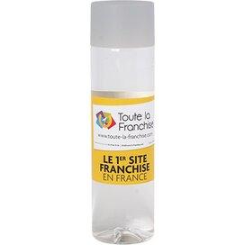 Ronde waterfles Chap`leau 500 ml lichtgrijs