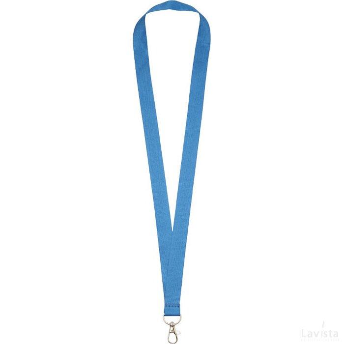 Impey sleutelkoord met haak Process Blue