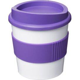 Americano® primo 250 ml beker met grip Wit,Paars