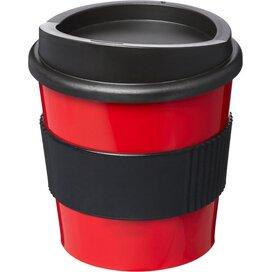Americano® primo 250 ml beker met grip Rood,Zwart