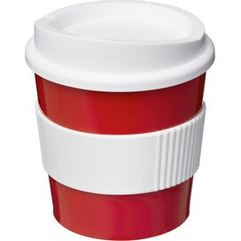 Americano® primo 250 ml beker met grip Rood,Wit