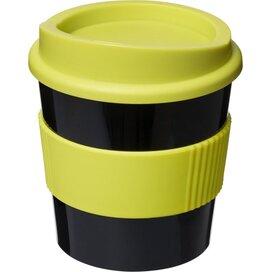 Americano® primo 250 ml beker met grip Zwart,Lime