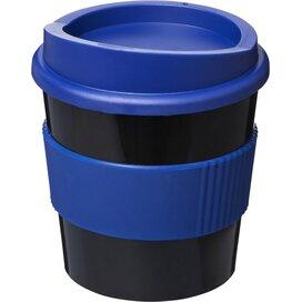Americano® primo 250 ml beker met grip Zwart,blauw