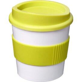 Americano® primo 250 ml beker met grip Wit,limegroen Wit,Lime