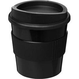 Americano® primo 250 ml beker met grip Zwart