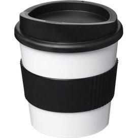 Americano® primo 250 ml beker met grip Wit,Zwart