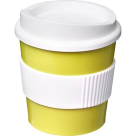 Americano® primo 250 ml beker met grip Lime,Wit