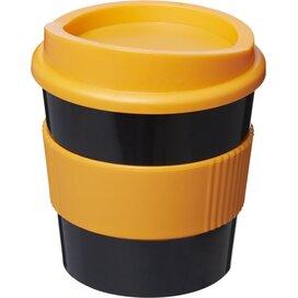 Americano® primo 250 ml beker met grip Zwart,Oranje